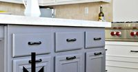 Step by step tutorial on how to take a existing drawer and door and turn it into a pull out trash can. This will save you hundreds of dollars!