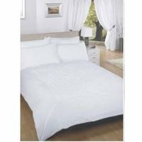 metropolis King Size Duvet Set Bedding with FREE Metropolis available in Brown and White colourways. This minimalist design features a centre panel of pin-tucking offset by a plain border. The single size includes one pillowcase and the double and http://...
