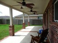 Patio Covers and Decorative Stained Concrete