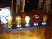 "Margarita Flight at La Cava del Tequila, aka ""The Ditch"":"
