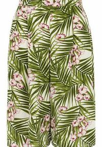 Dorothy Perkins Womens Hawaiian Print Culottes- White DP14551982 Wide leg style cullotes with pleat front detailing and Hawaiian print. Approx length 65cm. 100% Viscose. Machine washable. http://www.comparestoreprices.co.uk//dorothy-perkins-womens-haw...