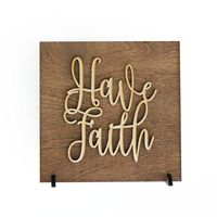 Have Faith . Wood Sign $16.95 �œ�Handcrafted in the USA! �œ�