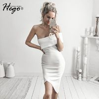Sexy Attractive Slimming Sheath Off-the-Shoulder It Girl Summer Formal Wear Dress - Bonny YZOZO Boutique Store