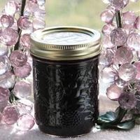 Blackberry Jalapeno Jelly - Sweet and savory. Try it with cream cheese and crackers!