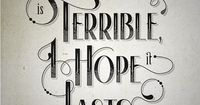 by Steven Bonner (I feel this way all the time while reading.) #typography #retro
