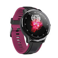 Bakeey SN80 1.3inch IPS Full Touch Screen DIY Heart Rate Blood Pressure O2 Monitor bluetooth Music Weather Forcast 3D UI Smart Watch
