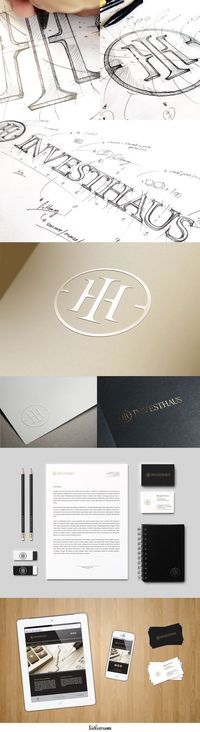 Investhaus Identity by IndustriaHED (via Creattica)