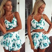 Top Shorts Set Dress Suit kr25.99