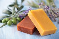 Vegan Sage Lemongrass Organic soap $7.99