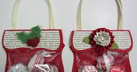 Stampin' Up! Top Note Candy Purse Becky Roberts Christmas