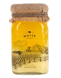 Whyte Farms Pure Desi Cow Ghee is naturally produced using age old traditional method of ghee making process.