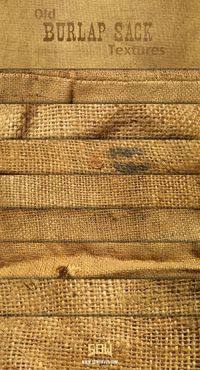 8 Free High Resolution Old Burlap Textures