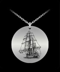 High Seas Ship,Pendant $33.45