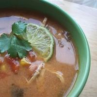 Slow-Cooker Chicken Tortilla Soup from Allrecipes (http://punchfork.com/recipe/Slow-Cooker-Chicken-Tortilla-Soup-Allrecipes)