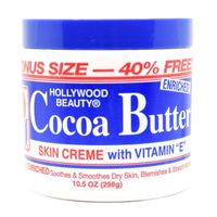 It is a highly enhanced product suitable for all kinds of external use. Get the best prices on Hollywood Beauty Cocoa Butter Skin Creme With Vitamin E today.