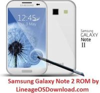 Install Lineage OS ROM on Samsung Galaxy Note 2