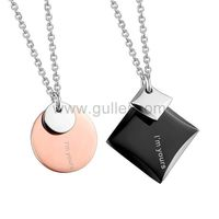Couples Promise Pendants Jewelry Set with Names Engraved https://www.gullei.com/couples-promise-pendants-jewelry-set-with-names-engraved.html