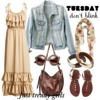maxi dress outfit