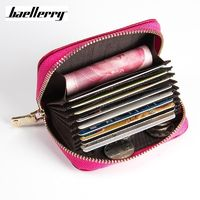 Baellerry Brand Genuine Leather Unisex Card Holder Wallets Female R269.55