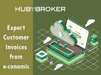 Export Customer Invoices via e-conomic to iPaaS. HubBroker ApS is reliable partner on e-conomic & we provide service at competitive rate https://bit.ly/2lJl8z5