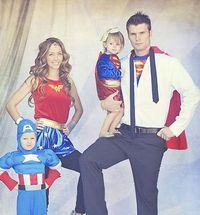 #Halloween fun for the whole family: The Super Hero Family