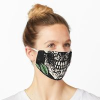 https://www.redbubble.com/i/mask/Sugar-Skull-and-Roses-by-ShayneoftheDead/29367847.9G0D8?asc=u