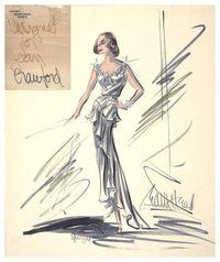 via Glamour Jungle! #30: Edith Head for Joan Crawford ... 1965 Academy Awards