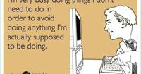 Pinterest, Facebook, Twitter, Playing games. I'm so good at avoiding my work!