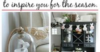 Come in for an Easter and spring home tour filled with inspiring spring home decor ideas!