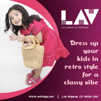 Vintage inspired clothing for kids! Shop trendy and stylish vintage kids clothes at LA Vintage. A wide range of collections available for boys and girls.