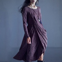 Vintage Long Knitted Dress $62.99