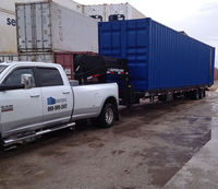 Shipping Container for Storage by E & S Equipment Sales & Surveying