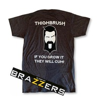 """LIMITED EDITION - THIGHBRUSH® - """"If You Grow It, They Will Cum!"""" - Men's T-Shirt"""