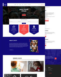 """https://html.design/download/doni-child-charity-html-template/ Doni �€"""" Free Child Charity HTML Template is a clean and modern Charity HTML Template for non-profit organizations and donation helps for a poor and needful person."""