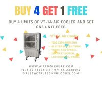 Buy 4 air cooler & get one desert cooler free