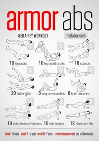 Armor Abs Workout Workslower Front Hip Flexors Lateral