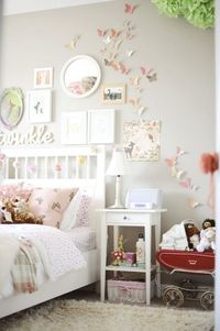 Cute girls room.