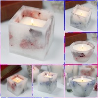 Enchanted Rose, Lavender Candles Gifts £18.00