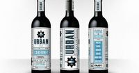 Urban Wine Works. Beautiful design and typography as well... if anyone knows where to get a bottle of these, please let me know...
