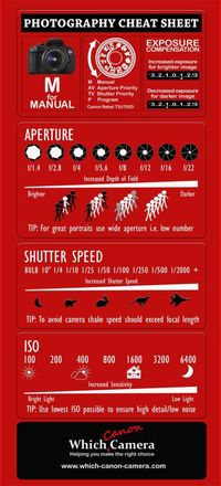 Brand New Photography Cheat Sheet to help you master your digital camera.