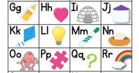 Download a FREE Alphabet Chart for student use and check out coordinating instructional resources and decor to help your outfit your entire classroom.