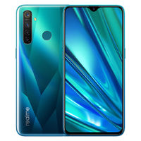 Realme 5 Pro Global Version 6.3 inch FHD+ 4035mAh Android P 48MP AI Quad Cameras 8GB RAM 128GB ROM Snapdragon 712 Octa Core 2.3GHz 4G Smartphone