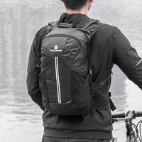 ROCKBROS Bike Bag 10 Inch Cycling Hiking Backpack Outdoor Rainproof Camping Travel Bag Adjustable Chest Waist Buckle Package