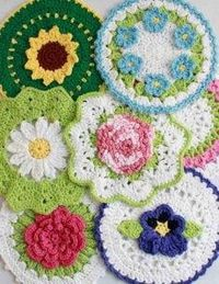 Dish cloth patterns... they look harder than the ones I've been working on.. maybe someday!