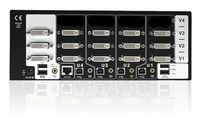 AV4PRO-DVI-TRI-US AdderView Pro 4 Port Triple supports four Triple Head Dual link DVI-I computers to be controlled from a single high resolution KVM console. Get best deals on Adder products from kvmswitchtech.com