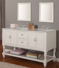 Double Bathroom Vanities | ... double sink bathroom vanities s3104 from double sink bathroom vanities
