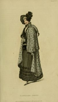 Carriage Dress - Jan. 1818