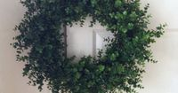 Awesome boxwood wreath tutorial This uses fake boxwood...but it gives you an idea on how to arrange...