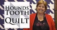 The Houndstooth Quilt- Quilting Made Easy! YESSSS! I HAVE to make this quilt! I'm so glad I found a video tutorial.