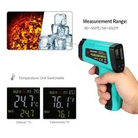 Non-contact IR Infrared Digital Thermometer MEC8550CT